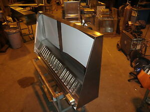 6 FT TYPE l HOOD CONCESSION KITCHEN GREASE HOOD,BLOWER ...