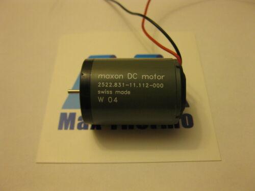 Schweizer Maxon 12vDC Motor 2522.831-11.112-000 für Tattoo Maschine und Mehr