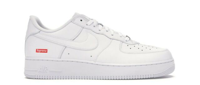 Supreme/Nike Air Force 1 Low White Size 9.5 Brand New *CONFIRMED ORDER*