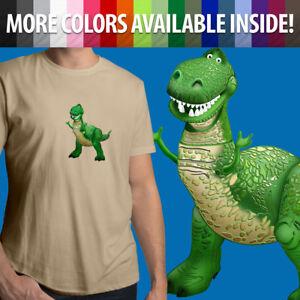 Toy-Story-Tyrannosaurus-Rex-Dinosaur-Disney-Pixar-Unisex-Mens-Tee-Crew-T-Shirt