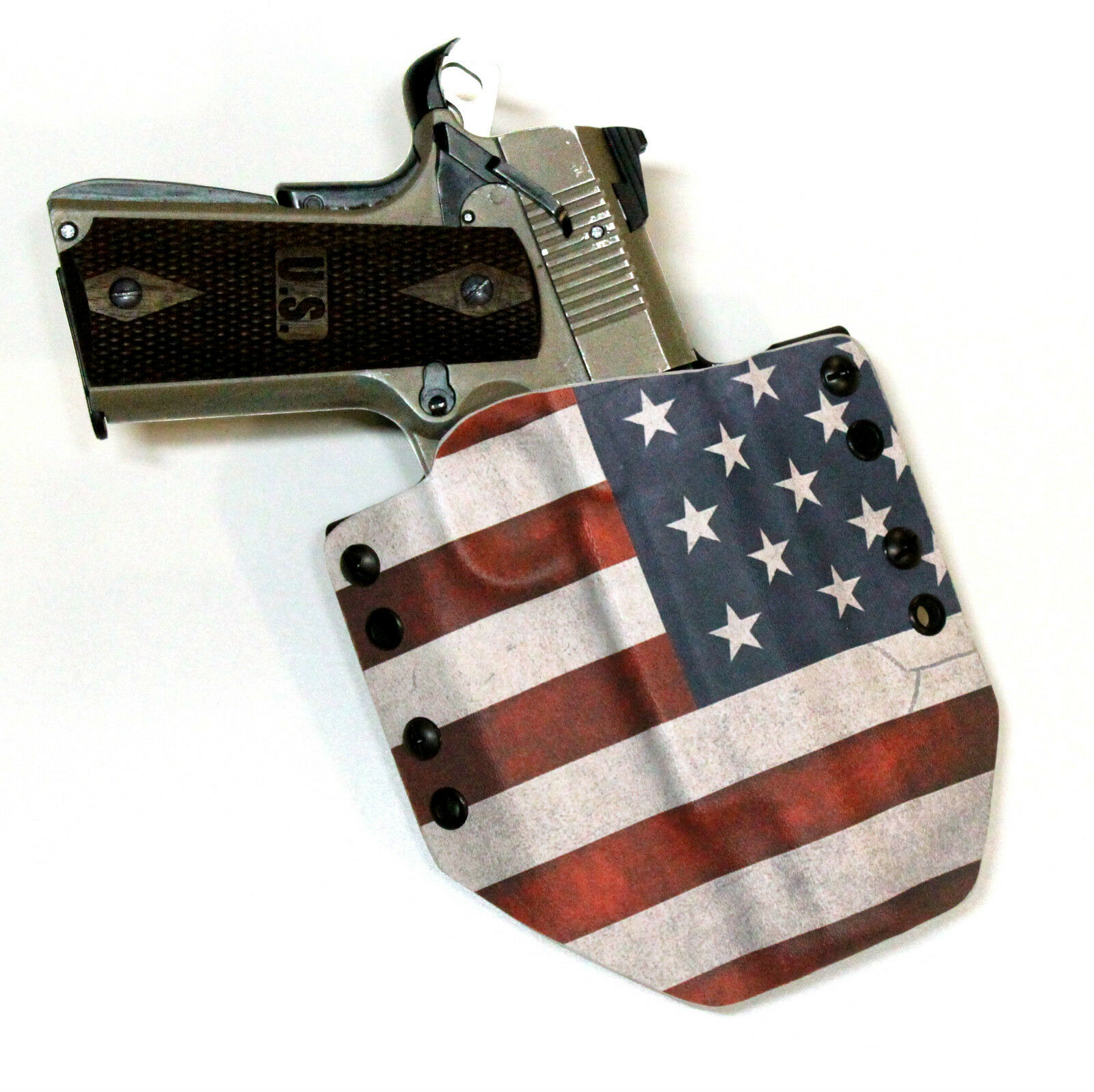 GMI Kydex Holster - American Flag Custom (Choose (Choose Custom gun model ) 626047