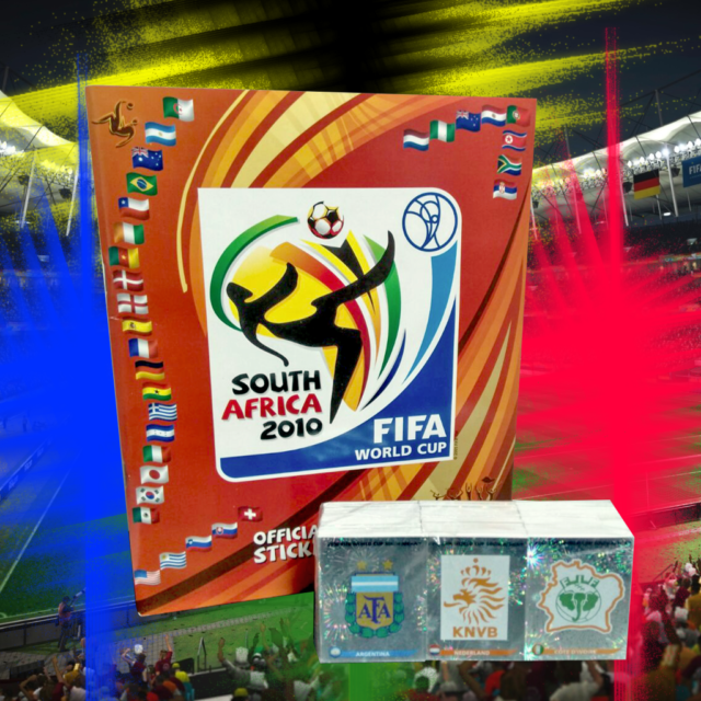ac71f4064 FIFA World Cup South Africa 2010 Official Licensed Product Empty Album+ Stickers