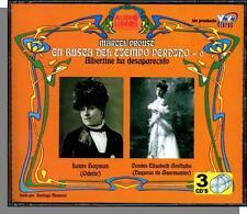 Marcel Proust: En Busca Del Tiempo Perdido #6- New Audio Book in Spanish 3 CDs!
