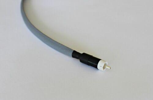 Nimak Pulsar Mk2 audio digital hi-fi,pure soft silver RCA cable,SPDIF,COAX,1 m