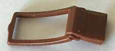 *NEW* 2 Pieces Lego Minifig Utensil BAG Messenger Pouch BROWN