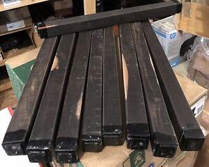 1 Gabon Ebony 1.2x1.2x18 Woodturning Lumber Wands Clarinets Calls Ebony Timber