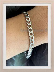 Bracelet-Gourmette-diamantee-Maille-Plate-6MM-X-20CM-En-Argent-Massif-925-1000