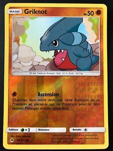 Carte-Pokemon-GRIKNOT-60-131-REVERSE-Soleil-et-Lune-6-SL6-FR-NEUF