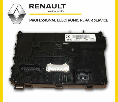 Cuerpo Control Módulo Servicio de Reparación ECU Renault Clio MK2 Bcn