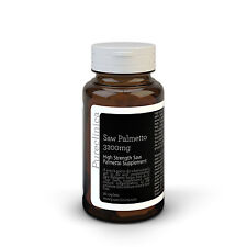 Saw Palmetto 3200mg - 3 months supply - Standardised to contain 95% fatty acids