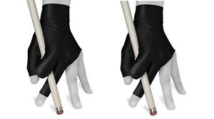 Billiard Pool Cue Glove by Fortuna Classic Fits Either Hand Black