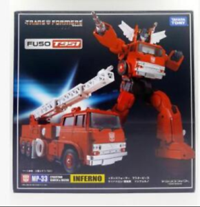TAKARA TOMY  Deformation toys Master MP-33 fire truck box in stock