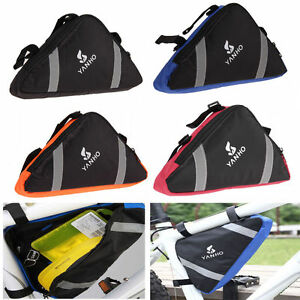 Roswheel Cycling Bicycle Bike Bag Top Tube Triangle Bag Front Saddle Frame Pouch