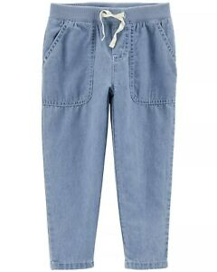 Carter/'s Toddler Girls/' Jeans with Rainbow Accent NWT denim pants