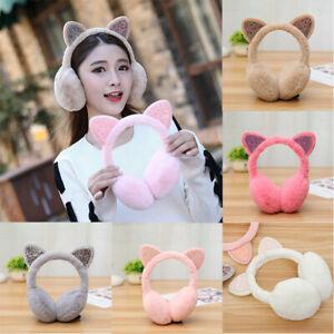 Winter-Kid-Lovely-Earmuffs-Cute-Women-Headband-Cat-Ear-Muffs-Warmers
