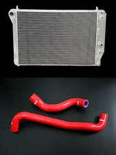 Silicone Hose Aluminum Radiator Corvette Z06 C5 350 57l V8 1997 2004 98 99 2002 Fits Chevrolet