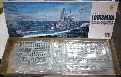 U.S NAVY Battleship LOUISIANA VERY FIRE 1//700 plastic model kit VF700902