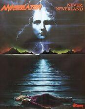 Suicide Silence /  Annihilator  ___   1 Poster / Plakat   ___   45 cm x 58 cm