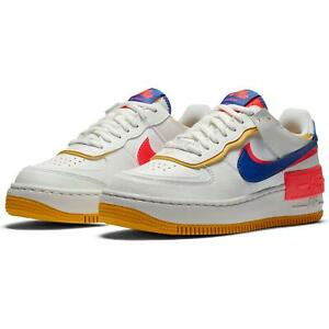 Details about Nike Air Force 1 Shadow Summit White Blue Red CI0919-105  Womens Size 6-10 New