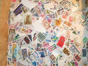 lot-de-1000-timbres-Francais-Obliteres