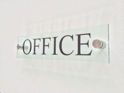 Moderne Bureau Signe Plaque Bureau Porte Signalisation Commerciale Signe Plaque