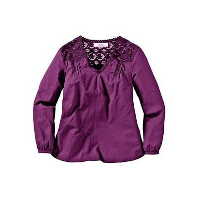 Tunika, New Style, Gr.42,44,48,50,58,aus transparenter Spitze, 100% Baumwolle