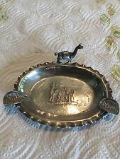 Vintage Sterling Silver .925 Dish-Ash Tray-Peru Not Scrap