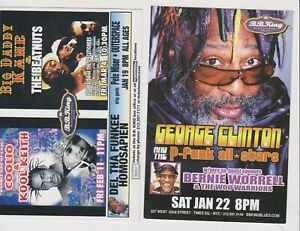 """George Clinton Bernie Worrel Coolio not sure of year Promo Glossy 4"""" x 6"""" Card"""