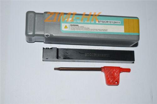 STGCR1212H11 12mmx100mm Lathe External Turing Tool Holder for TCMT1102//02//04//08