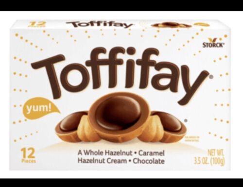 Toffifay Bonbon 3.5 oz Noisette Caramel Crème Confiserie Chocolat 12 Pièces    eBay