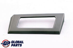 BMW 5 Series E60 LCI Decor Strip Cover Panel Right O/S Aluminium Pentan 8045814