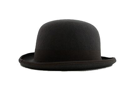 fd0b04efcbd3d4 NEW Classic Vintage Style Formal Event Business Wool Grey Bowler Hat S M L  XL   eBay