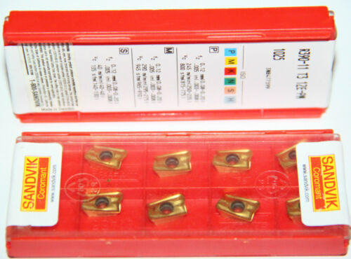 R390 11 T3 12E PM 1025 SANDVIK ** 10 INSERTS *** 1 FACTORY PACK ***