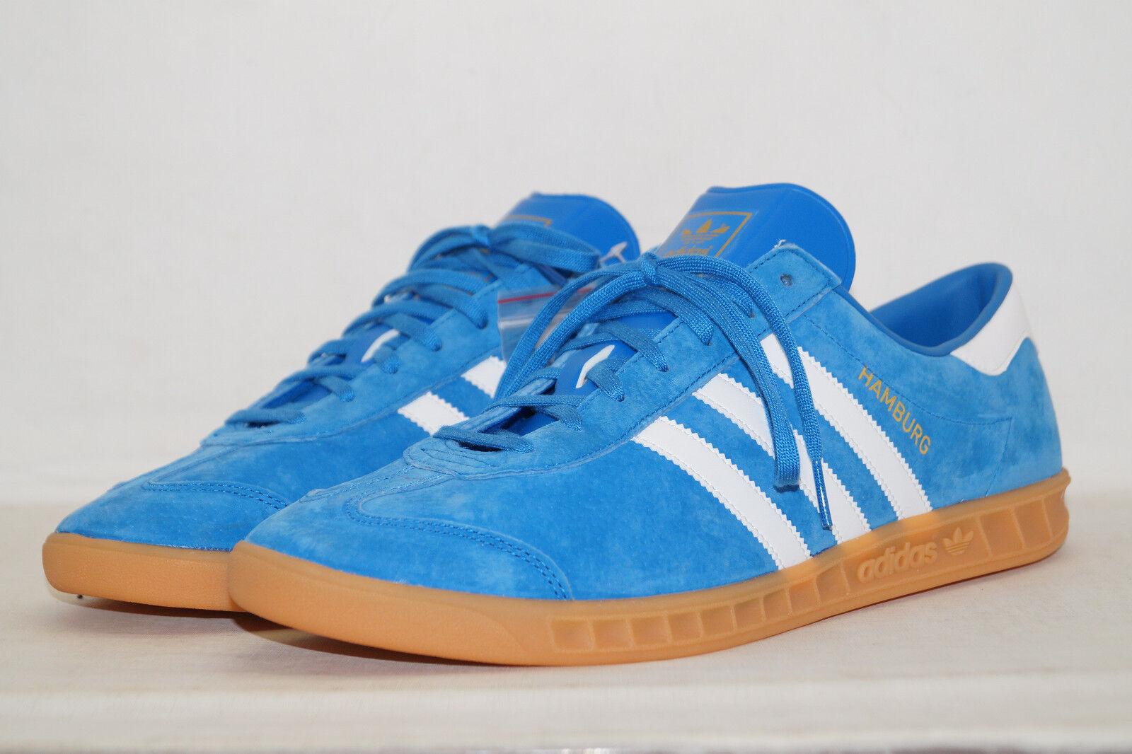 Adidas Originals Baskets Hambourg Bleu s76697 Baskets Originals Sport Chaussures 4952f7