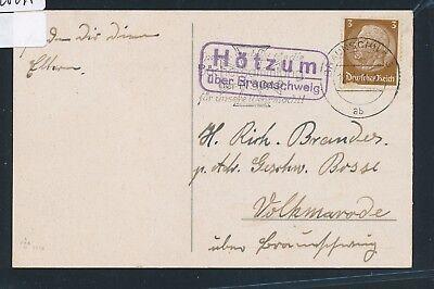 26295 Ds-karte 1941 Die Neueste Mode Landpost Ra2 Hötzum über Braunschweig