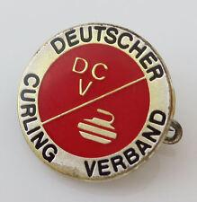 Vintage German Club Pin DEUTSCHER CURLING VERBAND