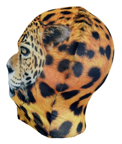 Léopard Tête Complète Masque-Animal-Drôle Costume Halloween Cosplay Fancy Dress