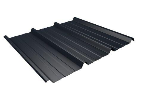 Sonderposten Trapezblech Dachplatten Typ 45//1000  RAL 7016 anthrazitgrau