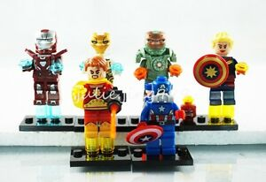 Mark 33 Iron Man Mini Figures Hyperion Mark 47 Scuba Iron Man Building Toys Gift