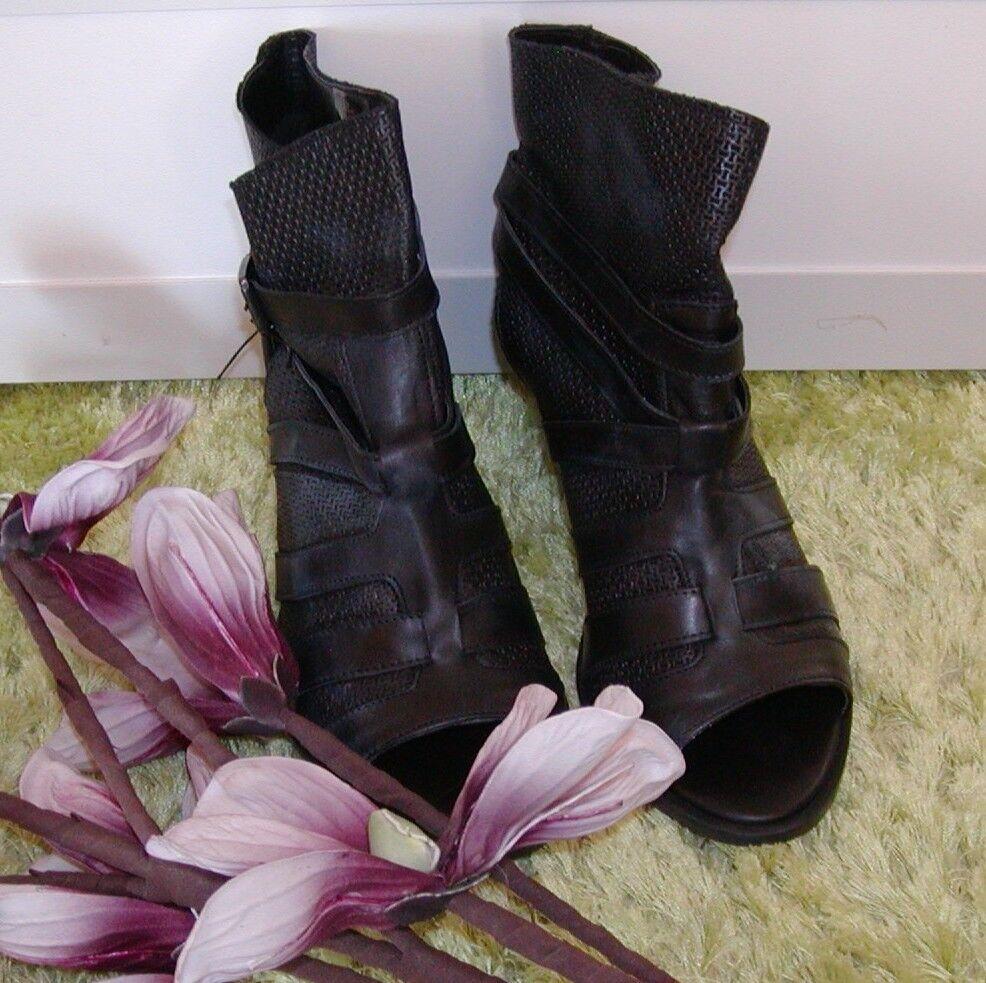 BRONX Trend Stiefelette Sandale Gr. 41 schwarz  NEU     schwarz   TOP ANGEBOT b36573
