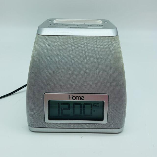 iHome iP21 iPhone/iPod Dock Alarm Clock Speaker (Tested & It Works)