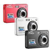 Amkov Digital Zoomable Anti-shake Digital Camera 18mp 2.7 Inch Tft Lcd 8x Go Pro