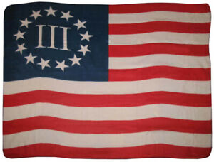 Betsy-Ross-Nyberg-3-Three-Percent-Flag-50x60-Polar-Fleece-Blanket-Throw-50-034-x60-034