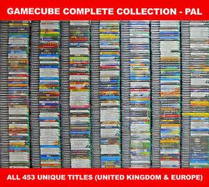 Pal Nintendo GameCube полная коллекция (УКВ) – все 453 уникальных игр