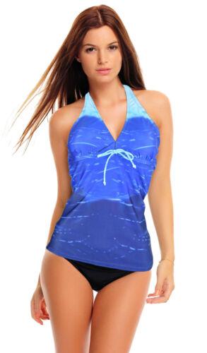 bain Femmes tankini Push Up Set Y maillot de bain neuf Taille 36-50 Noir Slip
