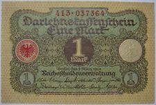 (Y0) - Deutschland Germany - 1 Mark - 1920 - Darlehenskassenschein - UNC - P 58