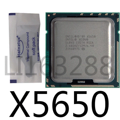 Intel Xeon X5650 2.667 GHz Socket 1366 CPU Processor SLBV3