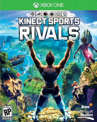 Kinect Sports Rivals (Microsoft Xbox One, 2014) Video Game w/ Case
