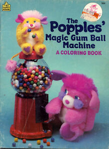 image is loading popples coloring book rare