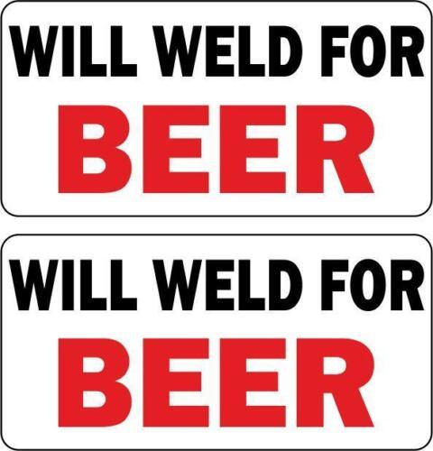 Autocollant sticker macbook laptop will weld beer biere